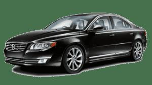 Déplacement haut-de-gamme en Volvo S80 avec chauffeur privé
