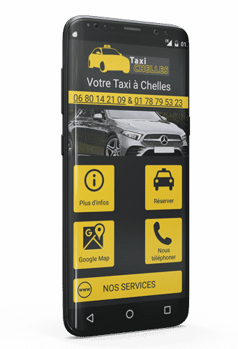 Application taxi Chelles